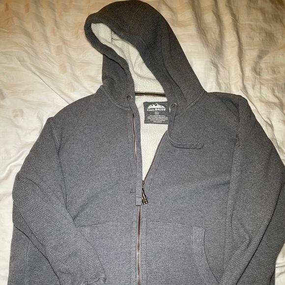 Eddie Bauer Men's Fleece Lined Thermal Zip Up